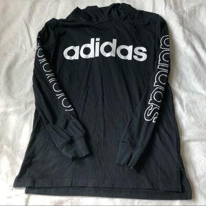 ADIDAS hooded shirt